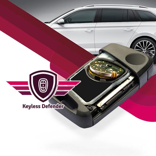 Se zařízením KEYLESS DEFENDER zabráníte odcizení vašeho auta